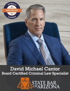 Criminal Law Specialist David Cantor