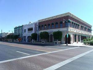 Main St in Old Gilbert, AZ